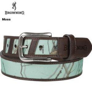 Browning womens belt